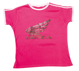 HONDA Wing flowers t-shirt