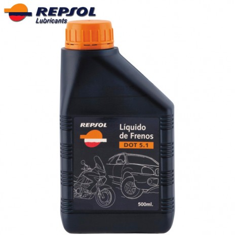 Repsol Brake Fluid Dot 5.1