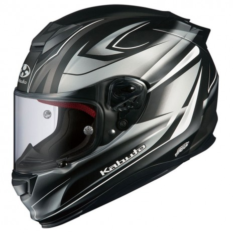 Κράνος KABUTO RT33 RAPID BLACK/SILVER