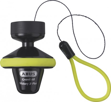 ABUS Granit Vctory X-plus 68 Full Yellow Κλειδαριά δισκοφρένου