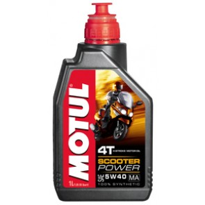 Motul Scooter Power 4T 5W40 MA 1L