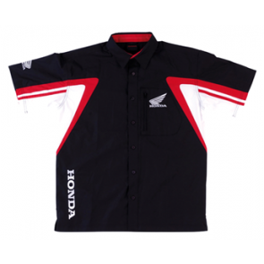 HONDA Short-sleeved racing shirt