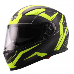 Κράνος Fullface UNIK CI01 Flash Fluo