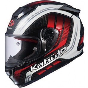 Κράνος KABUTO RT33 GLODIS WHITE/RED