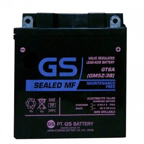 Μπαταρία GS GM5Z-3B GT6A GEL (YB5L-B)