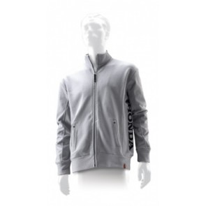 Honda Grey Zipper Jacket