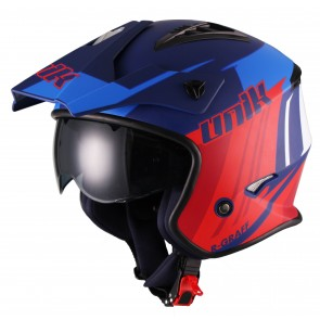 Κράνος UNIK Jet CT07 R-GRAFF Blue-Red
